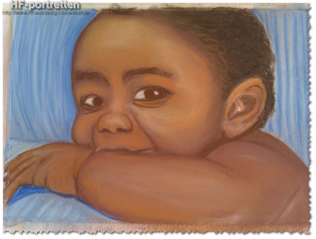 Baby in pastel