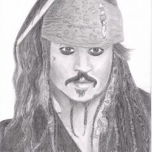 Johnny Depp als Captain Jack Sparrow
